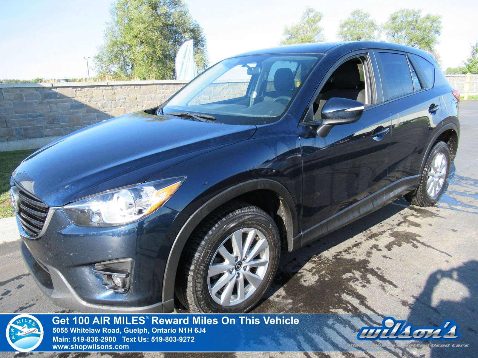 Certified Pre-Owned 2016 Mazda CX-5 GS-Navigation, Sunroof, Heated Seats, Bluetooth, Reverse Camera, Alloy Wheels and more!