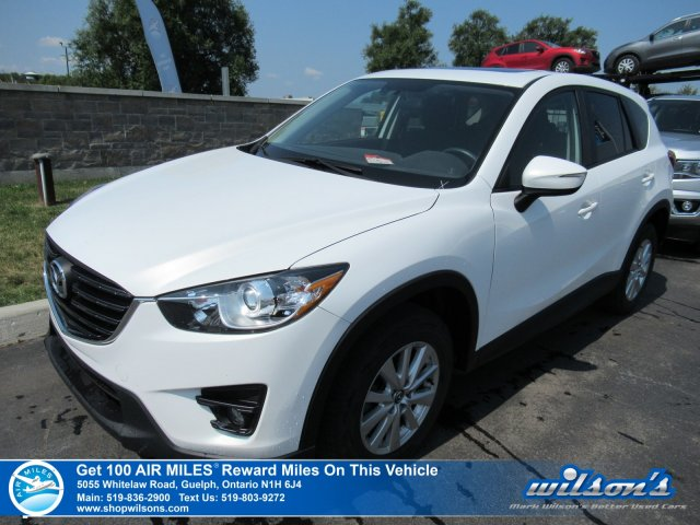 Certified Pre-Owned 2016 Mazda CX-5 GS AWD - Sunroof, Heated Seats, Bluetooth, Blind Spot Monitor, Cruise Control, Alloys and more!