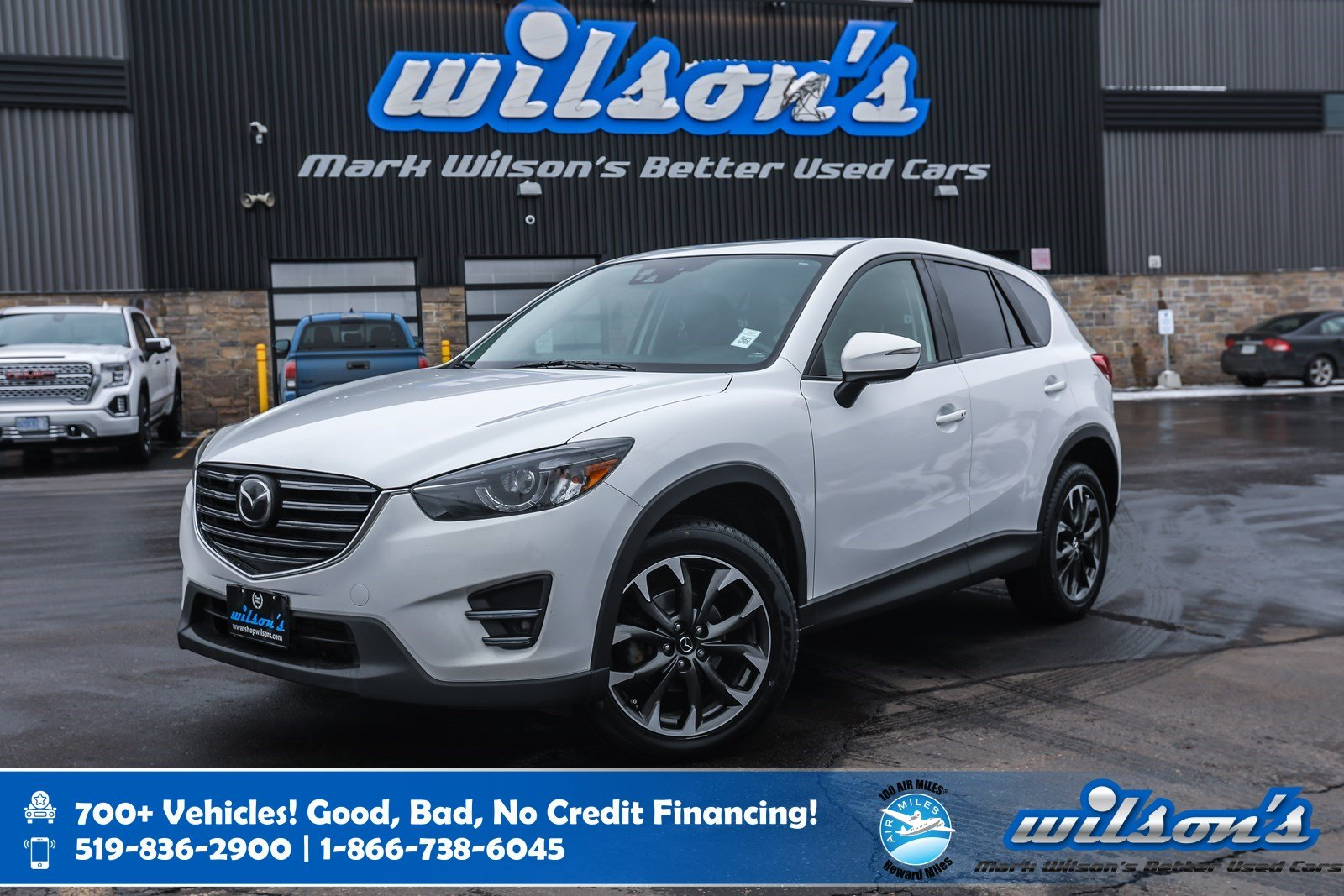 Certified Pre-Owned 2016 Mazda CX-5 GT AWD, Leather, Navigation, Sunroof, New Tires, Rear Camera, Bluetooth, Heated Seats and more!
