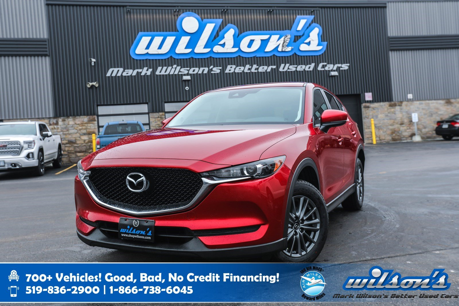 Certified Pre-Owned 2017 Mazda CX-5 GS, Leather Trim, Rear Camera, New Tires, Bluetooth, Heated Seats + Steering, Alloys and more!