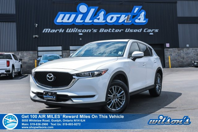 Certified Pre-Owned 2017 Mazda CX-5 GS LUXURY AWD - NEW TIRES! Leather, Navigation, Sunroof, Bluetooth, Rear Camera, Power Liftgate