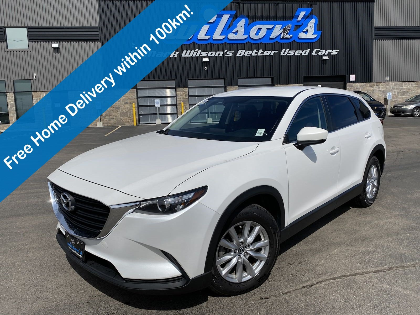 Certified Pre-Owned 2016 Mazda CX-9 GS AWD, Reverse Camera, Heated Seats, New Tires! Intelligent Key, LED Headlights, Alloys & More!