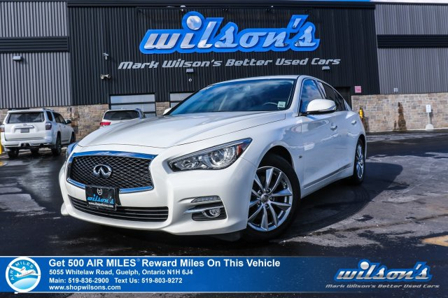 Certified Pre Owned 2017 Infiniti Q50 3 0t Awd Navigation Rear Cam Sunroof Leather Heated Mem Seats New Tires Brakes