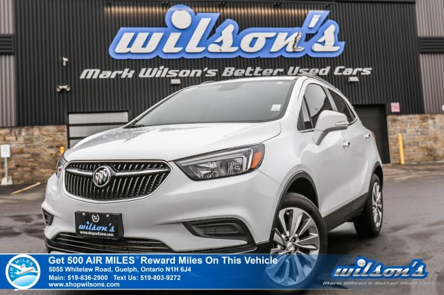 Certified Pre-Owned 2018 Buick Encore Preferred AWD - Leather Trim, Rear Camera, Apple Carplay, Bluetooth, 18