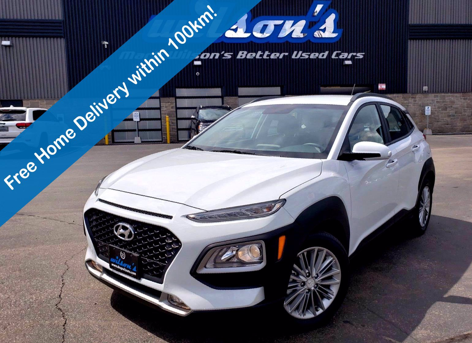 Certified Pre-Owned 2020 Hyundai Kona Preferred 2.0L AWD, Heated Steering, Blind Spot Monitor, Apple CarPlay + Android Auto, Heated Seats