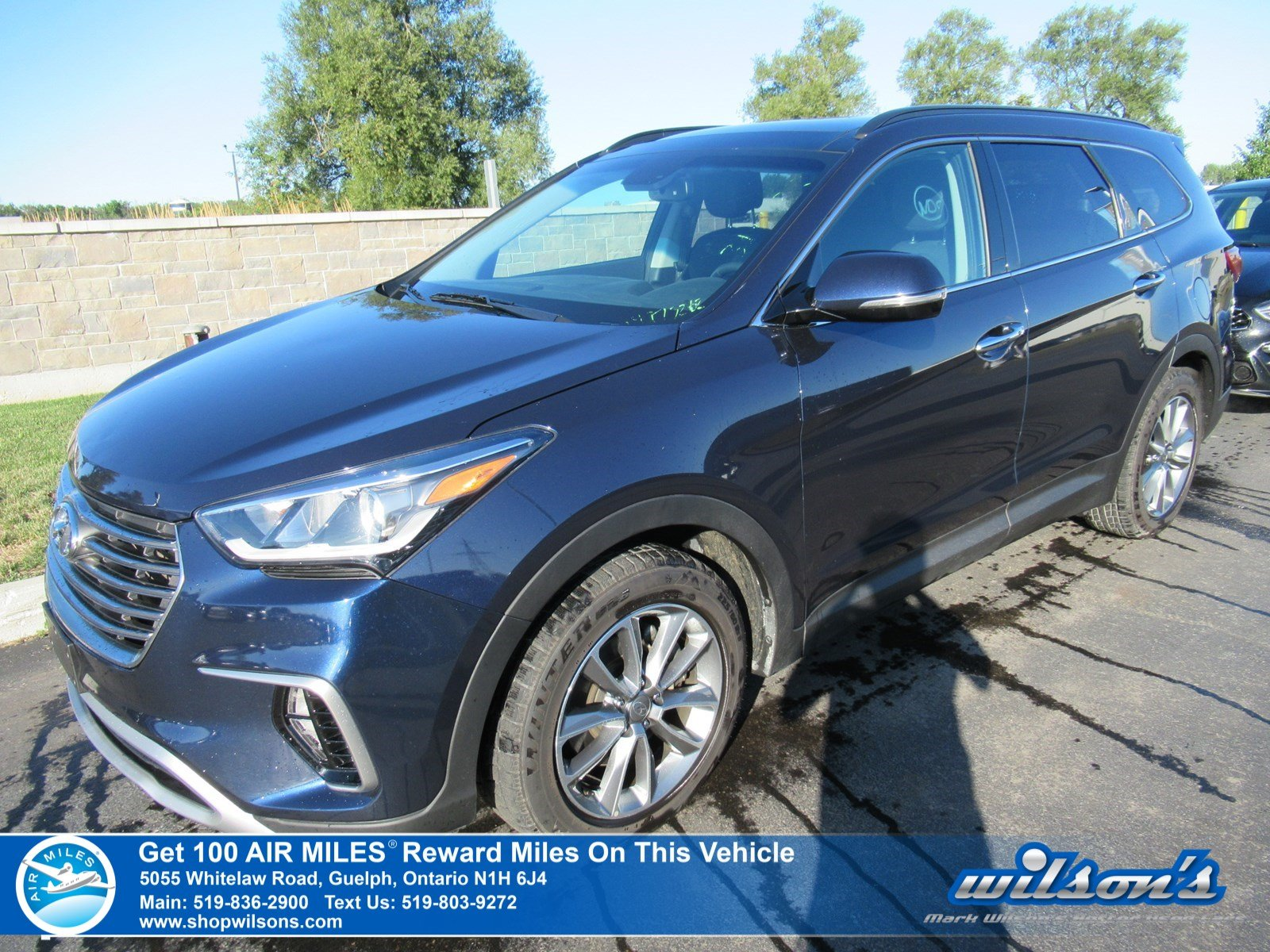 Certified Pre-Owned 2018 Hyundai Santa Fe XL Luxury Used AWD - Leather, Sunroof, Navigation, Sunroof, Heated Steering + Seats and more!