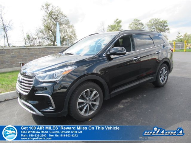 Certified Pre Owned 2017 Hyundai Santa Fe XL AWD PREMIUM | THIRD ROW | PWR  SEAT | HTD STEERING + SEATS | PWR LIFT GATE | REAR CAM | NEW TIRES