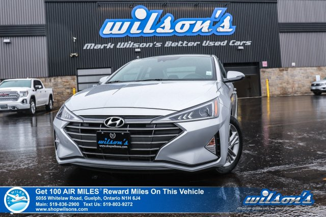 Certified Pre-Owned 2019 Hyundai Elantra Preferred 4DR – Sunroof, Rear Camera, Bluetooth, Lane Keep Assist, Emergency Braking & Lots More!