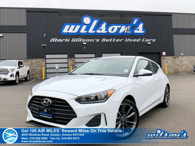 Certified Pre-Owned 2019 Hyundai Veloster - Heated Steering & Seats, Blind Spot & Rear Cross Path Detection, Android Auto & Apple CarPlay