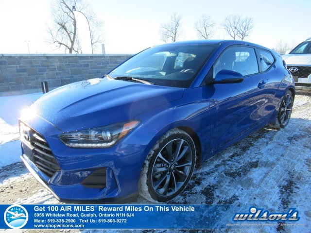 Certified Pre-Owned 2019 Hyundai Veloster GL - Rear Camera, Bluetooth, Heated Steering & Seats, Android Auto & Apple CarPlay, Plus More!