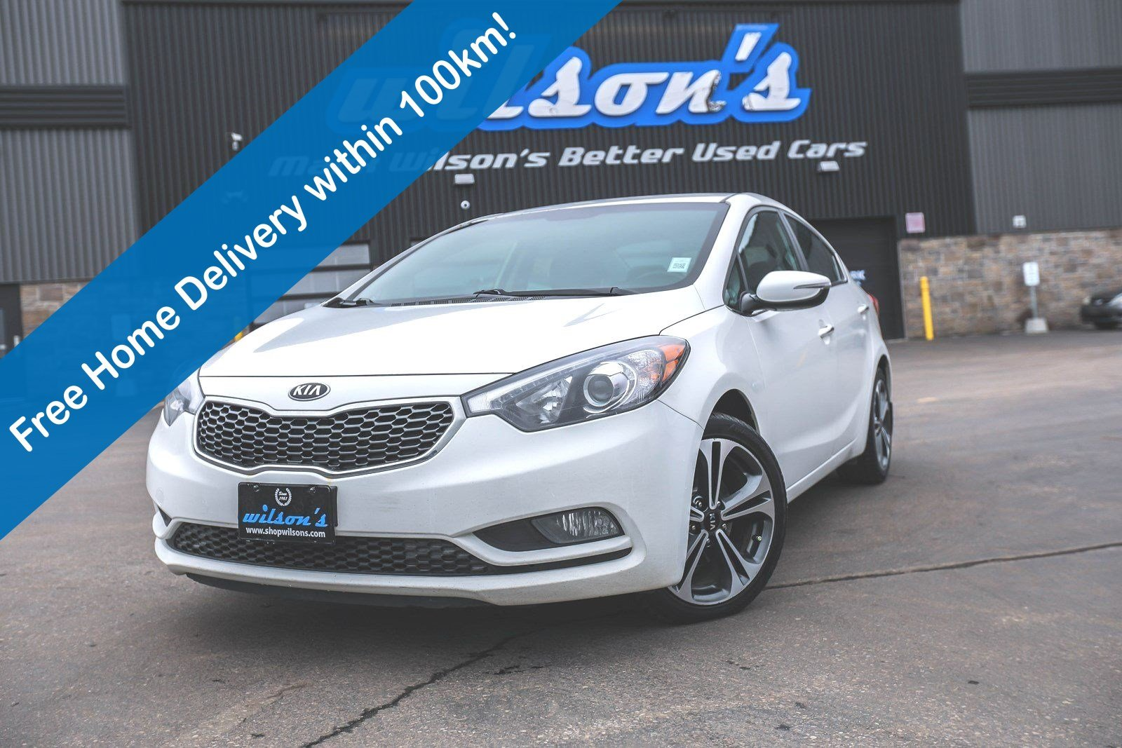 Certified Pre-Owned 2016 Kia Forte EX, Rear Camera, Heated Seats, Bluetooth, Keyless Entry, Cruise Control and more!