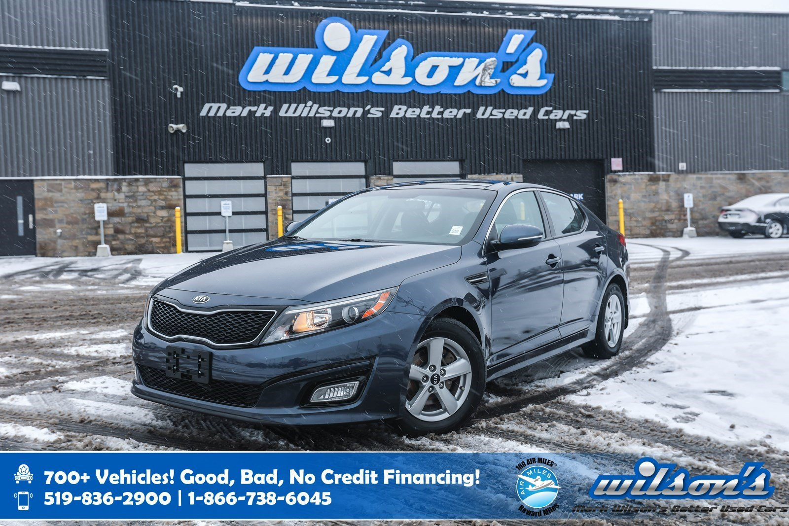 Certified Pre-Owned 2015 Kia Optima LX, Sunroof, Rear Camera, Heated Seats, Cruise Control and more!