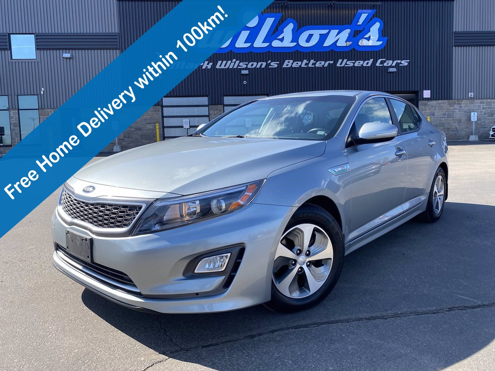 Certified Pre-Owned 2015 Kia Optima Hybrid LX, Heated Seats, Rear Camera, Bluetooth, Keyless Entry, Alloy Wheels and more!