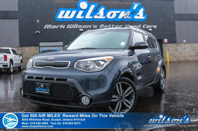 Certified Pre-Owned 2015 Kia Soul SX - Leather, Rear Camera, Heated Seats, Bluetooth, Alloy Wheels and more!