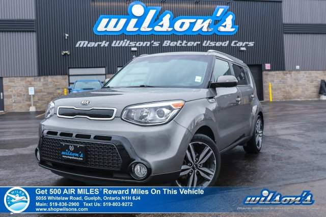 Certified Pre-Owned 2016 Kia Soul SX Hatchback – Leather, Rear Camera, Bluetooth, Heated Seats, Cruise Control & More!