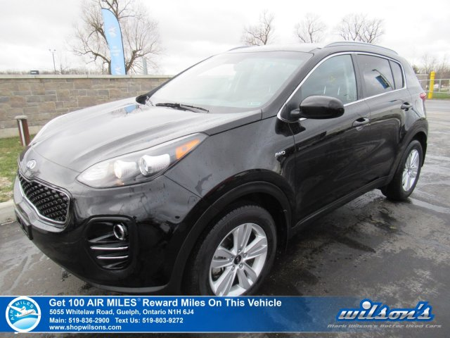 Certified Pre-Owned 2019 Kia Sportage LX AWD | HTD SEATS | BLUETOOTH | REAR CAMERA | ALLOYS