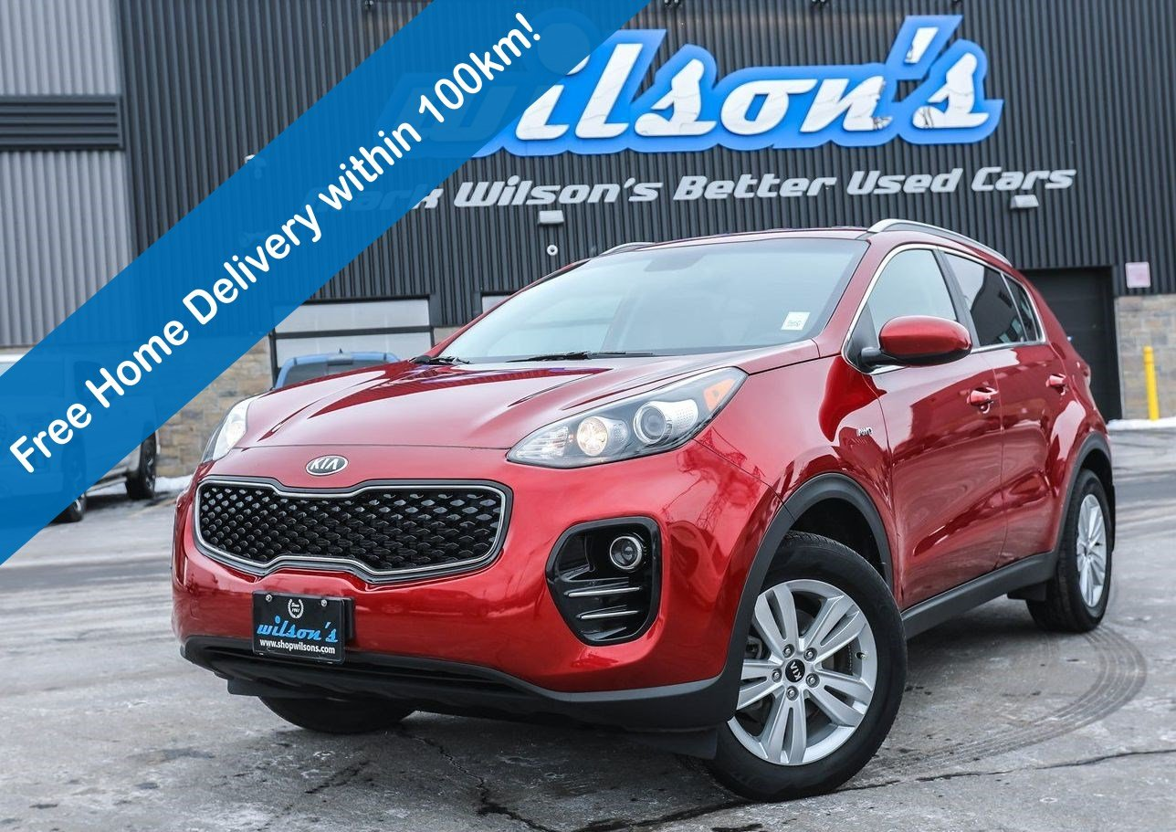 Certified Pre-Owned 2019 Kia Sportage LX AWD, Heated Seats, Bluetooth, Rear Camera, Keyless Entry, Cruise Control, Alloy Wheels and more!