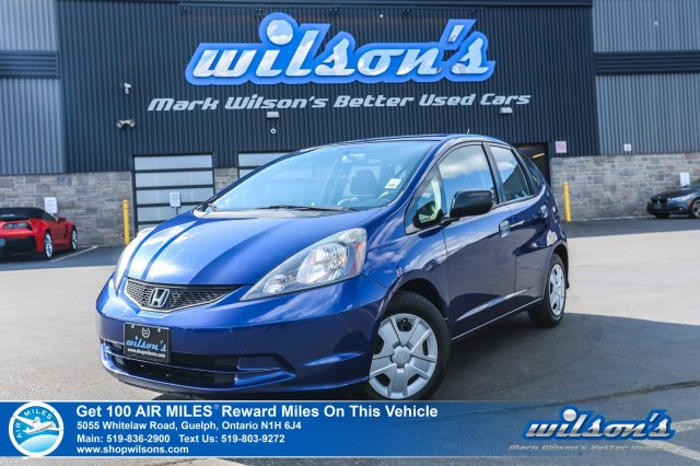 Certified Pre-Owned 2014 Honda Fit DX-A with NEW TIRES! Steering Radio Controls, Air Conditioning, Power Windows, CD Player!