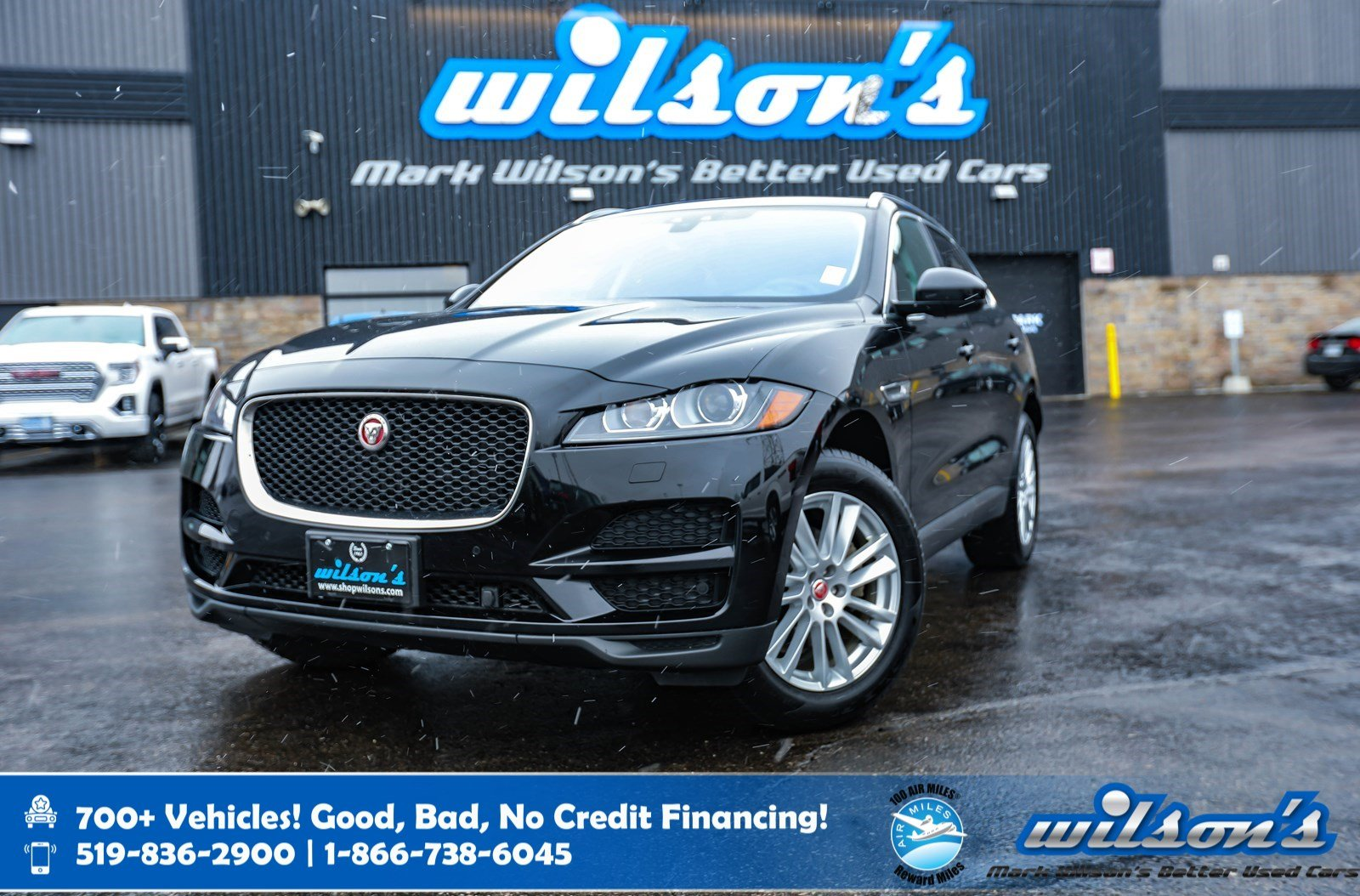 Certified Pre-Owned 2018 Jaguar F-PACE Prestige 25t AWD, Navigation, Panoramic Sunroof, Leather, Heated Steering, Power Liftgate
