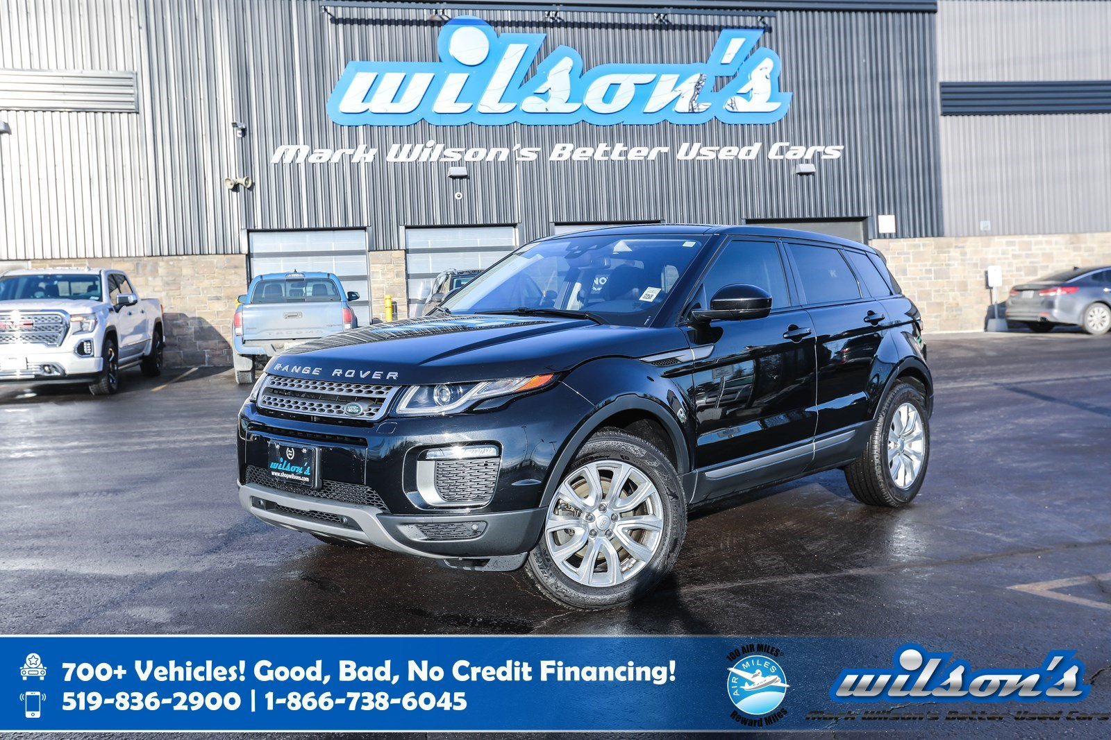 Certified Pre-Owned 2017 Land Rover Range Rover Evoque SE AWD, Navigation, Glass Roof, Leather, Rear Camera, Heated Steering, Bluetooth, and more!