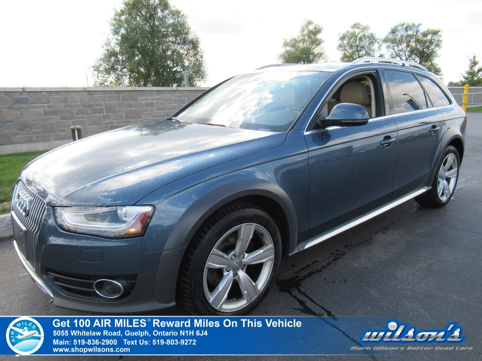 Certified Pre-Owned 2016 Audi A4 allroad Progressiv Quattro - One Owner! Leather, Sunroof, Navigation, Reverse Camera, Heated Seats and more!