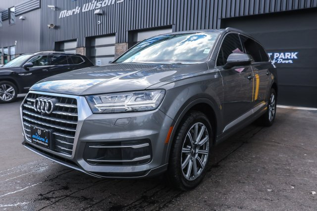 Certified Pre-Owned 2017 Audi Q7 quattro Technik Used - Leather,  Navigation, Sunroof, Bose Audio, Blind Spot Monitor & Much More!