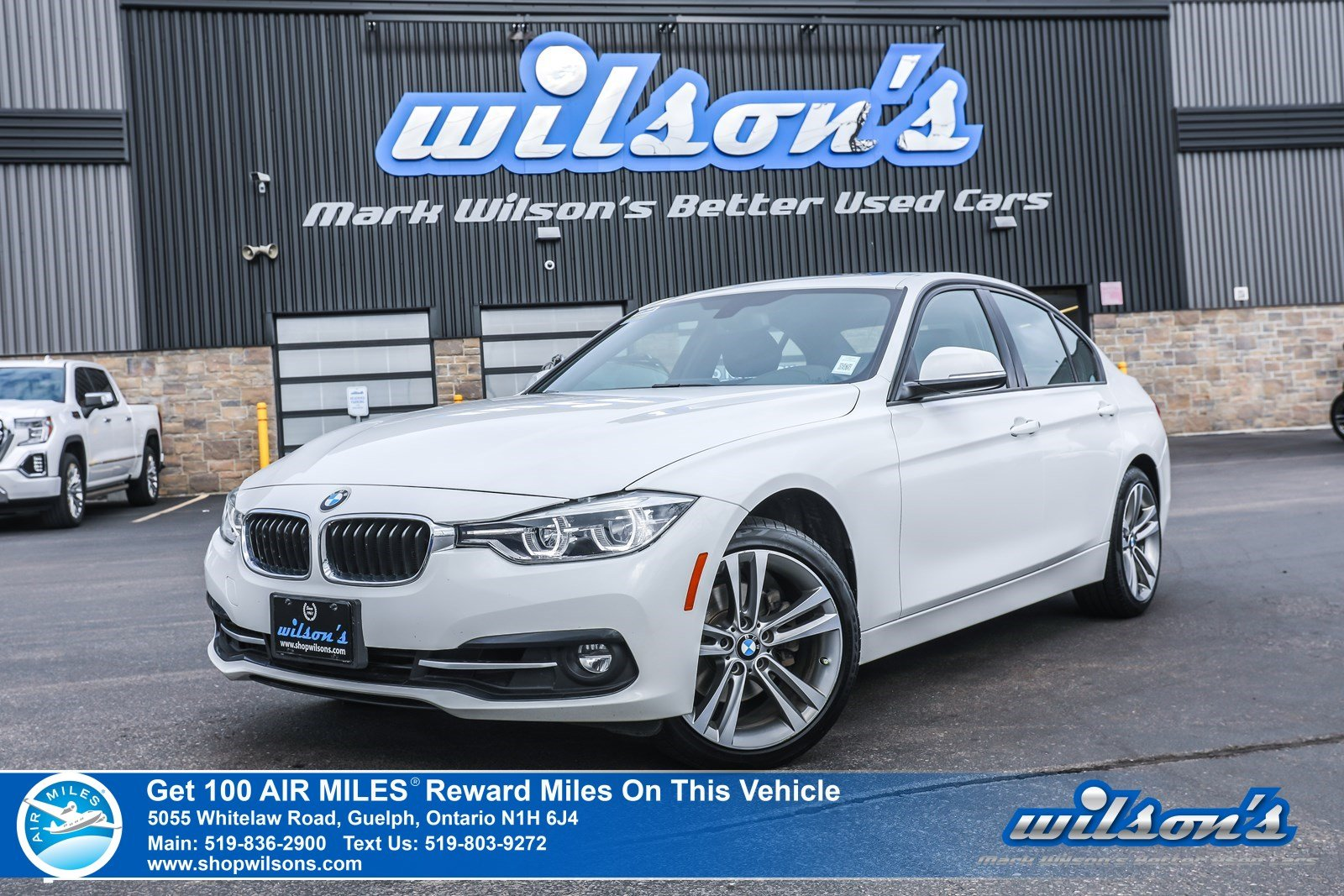 Certified Pre-Owned 2018 BMW 3 Series 330i xDrive Sportline AWD Used – Navigation, Sunroof, Rear Cam, Bluetooth, Cruise Control and more!