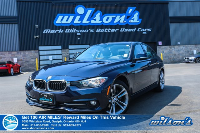 Certified Pre Owned 2016 Bmw 3 Series 320i Xdrive Leather Sunroof Power Seat Heated Seats Bluetooth 18 Alloy Wheels And More