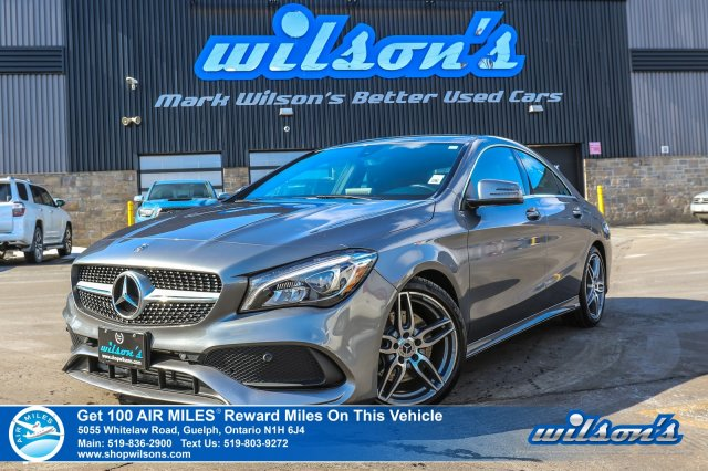 Certified Pre-Owned 2018 Mercedes-Benz CLA 250 4MATIC AWD - Navigation, Rear Camera, Bluetooth, Cross Traffic Alert & Lots More!