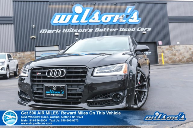 Certified Pre-Owned 2018 Audi S8 Plus V8 quattro, Massage Seats, Sunroof, Navigation