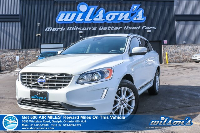 Certified Pre-Owned 2015 Volvo XC60 T5 Premier Plus - NEW TIRES! Leather, Sunroof, Rear Camera, Heated Seats & Much More!