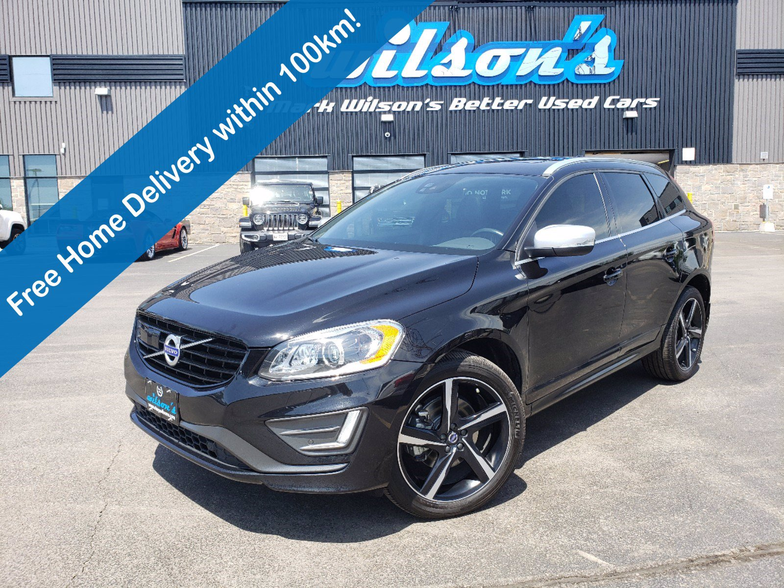 Certified Pre-Owned 2016 Volvo XC60 T6 R-Design AWD, Navigation, Sunroof, Leather, Technology Package, Keyless Drive, Alloys & More!