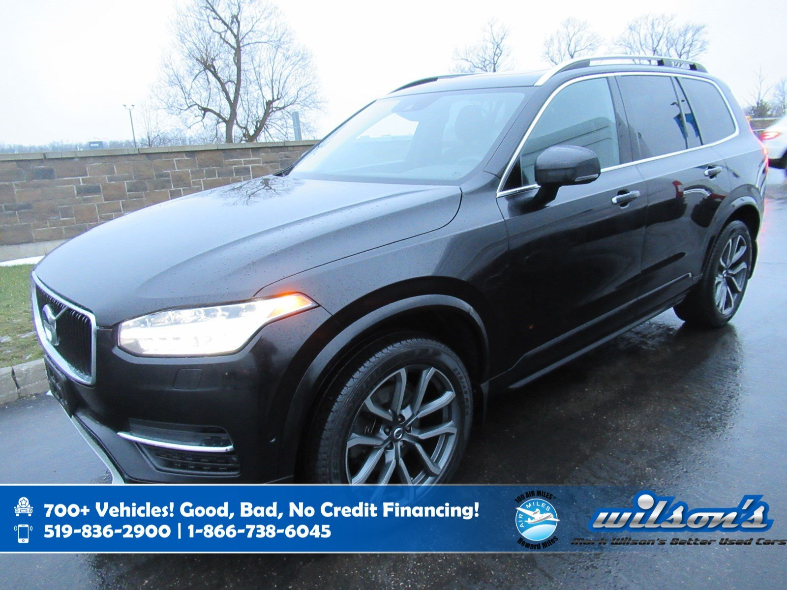 Certified Pre-Owned 2016 Volvo XC90 T6 Momentum AWD, Navigation, Leather, 3rd Row, Sunroof, Heated Seats, Rear Camera and more!