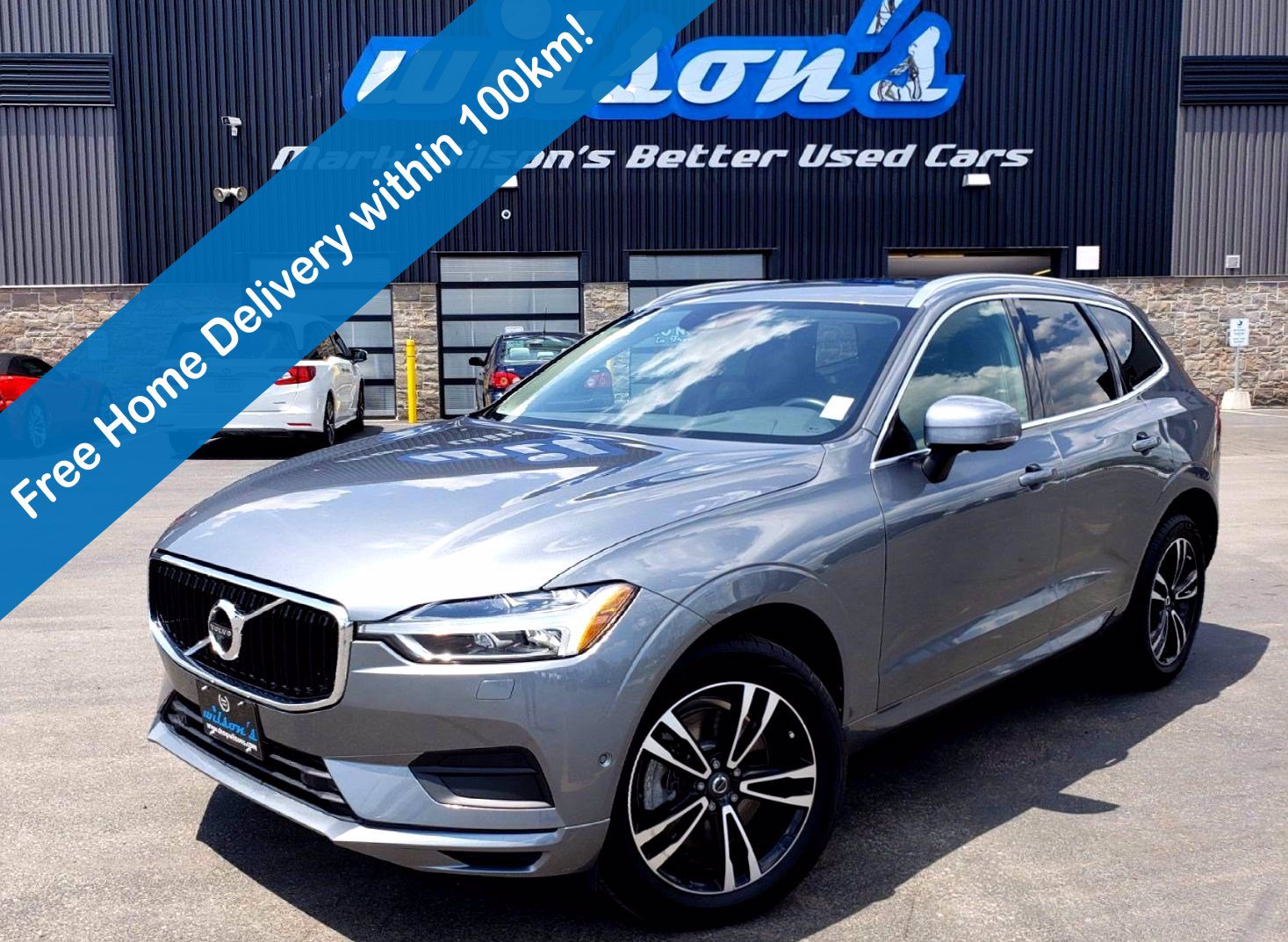 Certified Pre-Owned 2018 Volvo XC60 Momentum AWD, Navigation, Sunroof, New Tires, Leather, Heated Steering, Power Hatch and more!