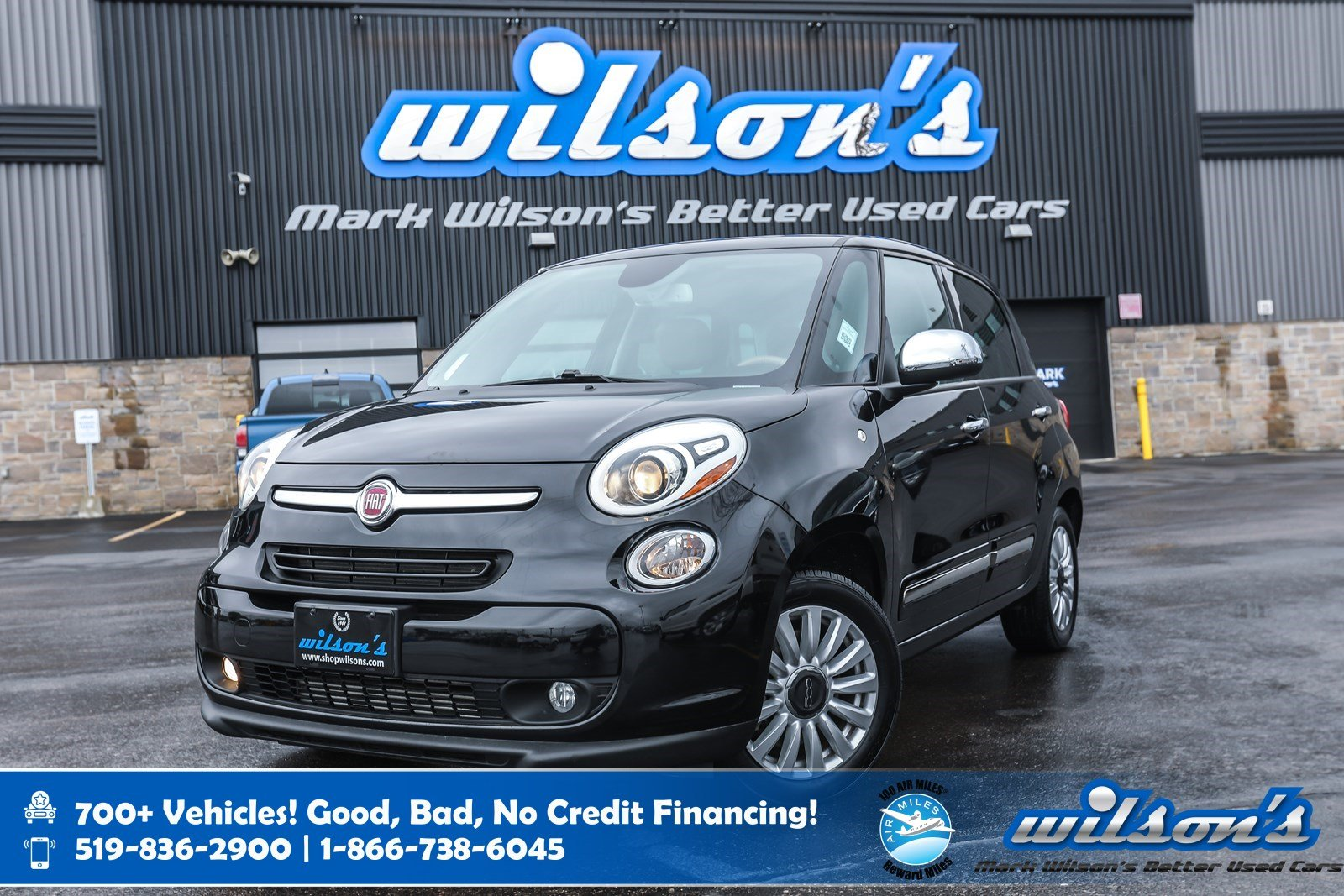 Certified Pre-Owned 2015 FIAT 500 Lounge, Leather, Rear Camera, Bluetooth, Heated Seats, Cruise Control, Alloys and more!
