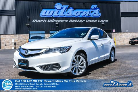 Certified Pre-Owned 2016 Acura ILX Premium Pkg - NEW TIRES! Leather, Sunroof, Heated Seats, Bluetooth, Rear Camera, & more!