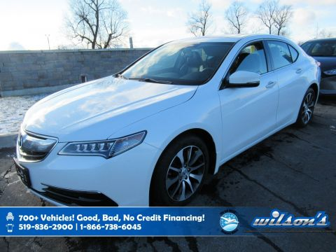Certified Pre-Owned 2016 Acura TLX Leather, Sunroof, Heated Seats, Power Seat, Bluetooth, Rear Camera, Alloy Wheels and more!