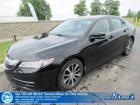 Certified Pre-Owned 2015 Acura TLX Tech - Navigation, Leather, Sunroof, Rear Camera, Bluetooth, Heated Seats and more!