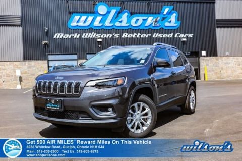 Certified Pre-Owned 2019 Jeep Cherokee North 4x4, Android Auto + Apple CarPlay, Power Seat, Rear Camera, Alloy Wheels and more!
