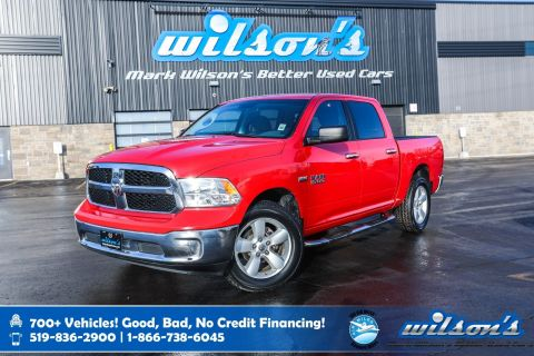 "Certified Pre-Owned 2017 Ram 1500 SLT Crew New Tires, Bluetooth, 20"" Alloy Wheels and more!"