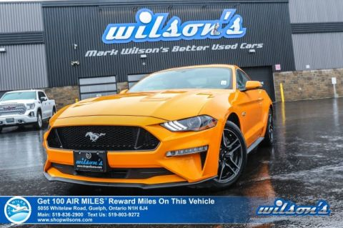 Certified Pre-Owned 2018 Ford Mustang GT - Leather, Navigation, Rear Camera, Bluetooth, Remote Start & Much More!