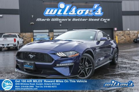 Certified Pre-Owned 2019 Ford Mustang EcoBoost Premium - 1000 KM! Leather, Rear Camera, Heated + A/C Seats, Bluetooth and more!