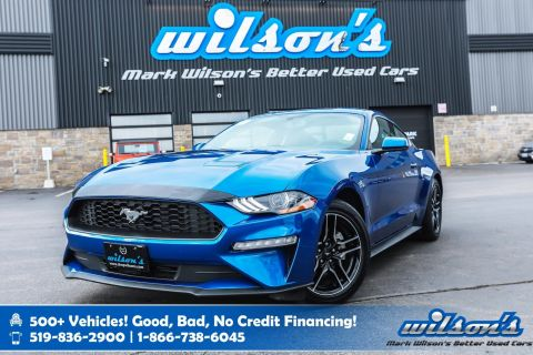 Certified Pre-Owned 2018 Ford Mustang EcoBoost Fastback Used, Bluetooth, Rear Camera, Alloy Wheels, Intelligent Key, and more!