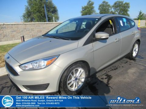 Certified Pre-Owned 2015 Ford Focus SE Hatchback - Rear Camera, Bluetooth, Sync Voice Activated, Alloys, Cruise Control and more!