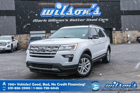 Certified Pre-Owned 2018 Ford Explorer XLT 7 Passenger, Bluetooth, New Tires, Rear Camera, Apple CarPlay, Alloys and more!