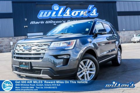 Certified Pre-Owned 2018 Ford Explorer XLT V6 4WD - Leather, Navigation, Sunroof, Heated Seats, Rear Camera, Bluetooth and more!