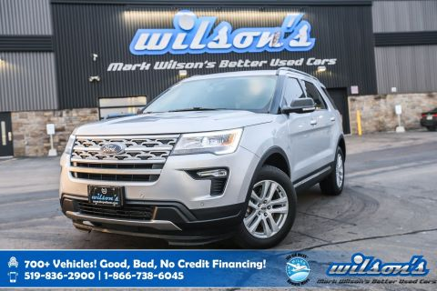 Certified Pre-Owned 2019 Ford Explorer XLT 4X4, Sunroof, Navigation, Blindspot Monitor, Leather, Reverse Camera and more!