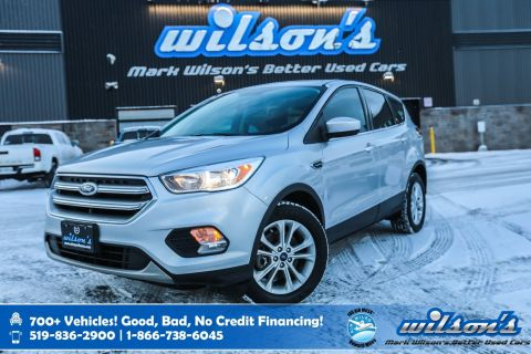 "Certified Pre-Owned 2017 Ford Escape SE, Rear Camera, New Tires, Bluetooth, Heated Seats, 17"" Alloys, Cruise Control, and more!"