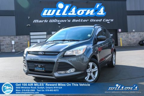 Certified Pre-Owned 2015 Ford Escape SE - Leather, Power Seat, Heated Seats, Rear Camera, Bluetooth, Alloy Wheels and more!