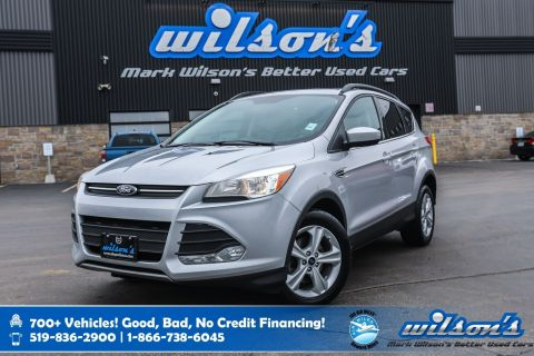 Certified Pre-Owned 2016 Ford Escape SE, Sunroof, Navigation, Rear Camera, New Tires, Power Seats + Liftgate and more!